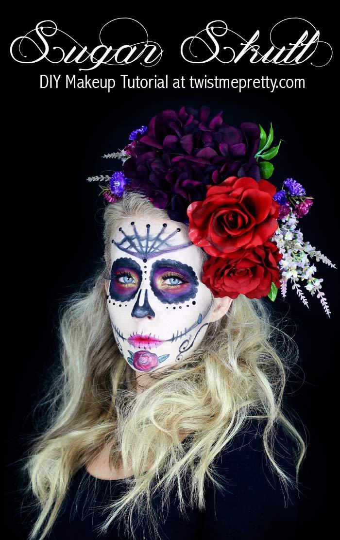Sugar Skull Makeup Tutorial for Beginners