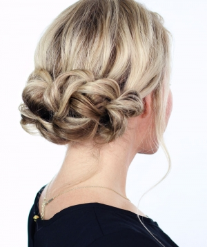Elegant Holiday Updo