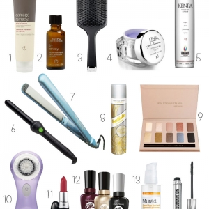 Holiday Beauty Shopping Guide 2014