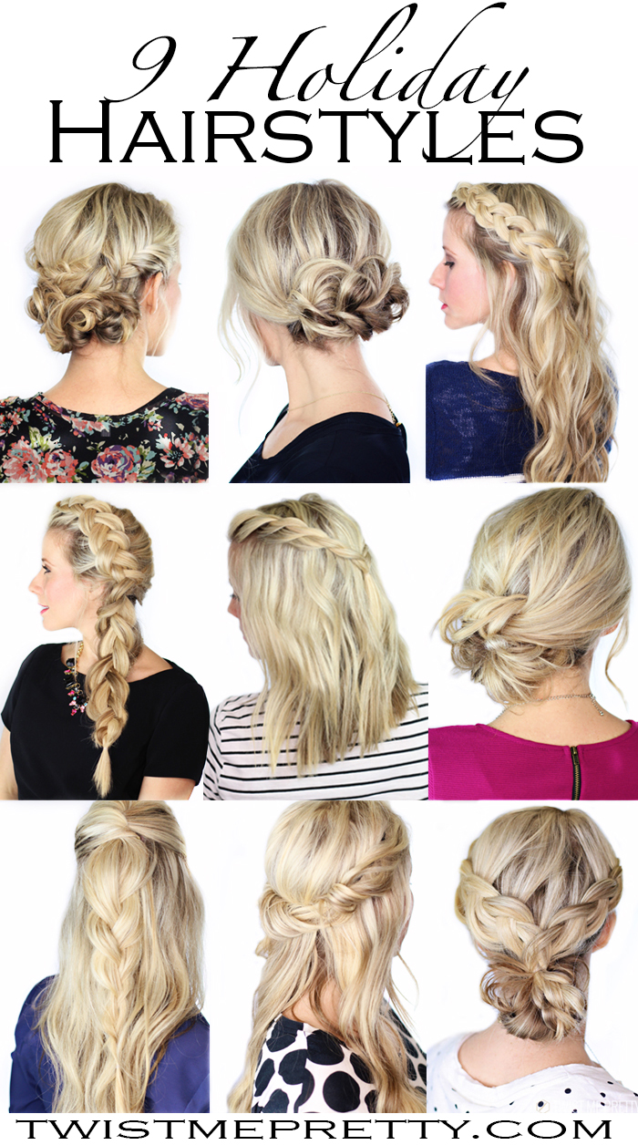 Hairstyles Xmas 2014 : holiday hairstyles