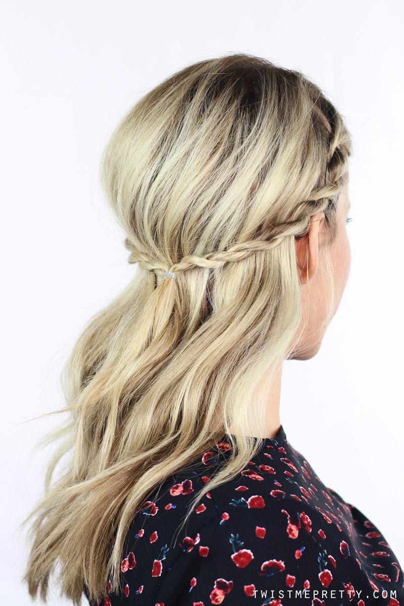 Marvelous 1 Twisted Braid 5 Hairstyles Twist Me Pretty Hairstyle Inspiration Daily Dogsangcom