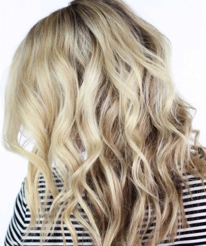 How To: Soft Waves Using a Curling Wand