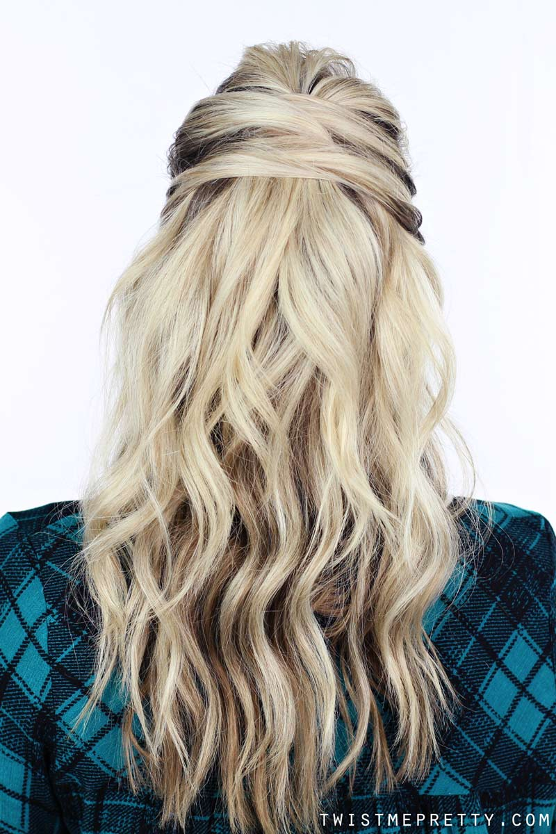 Day To Night Hairstyle With Kayley Melissa Twist Me Pretty