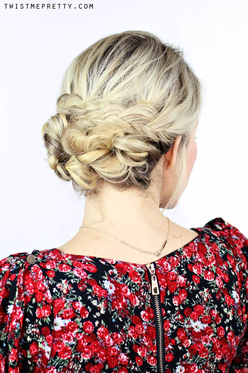 How To Simple Braided Updo