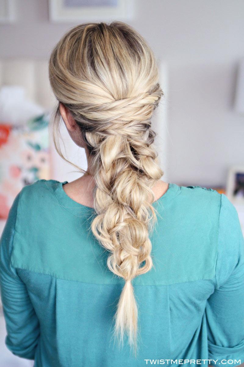 Three Easy Hair Tutorials Twist Me Pretty