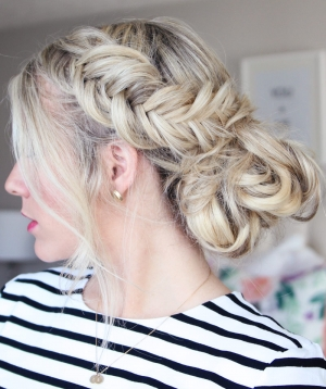 How To: Fishtail Updo