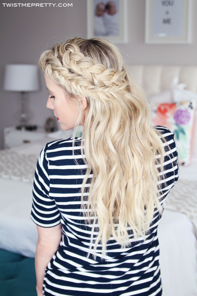 Keep Extensions From Showing + Mixed Braids Tutorial - Twist Me Pretty