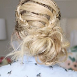 HOW TO: 2 Holiday Hairstyles (Corset braid)
