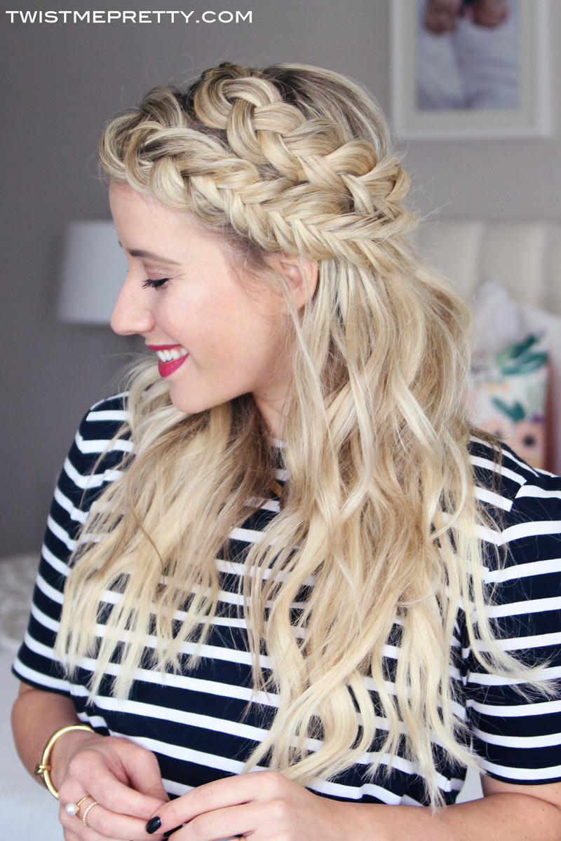 Keep Extensions From Showing Mixed Braids Tutorial