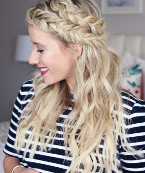 Keep Extensions From Showing + Mixed Braids Tutorial