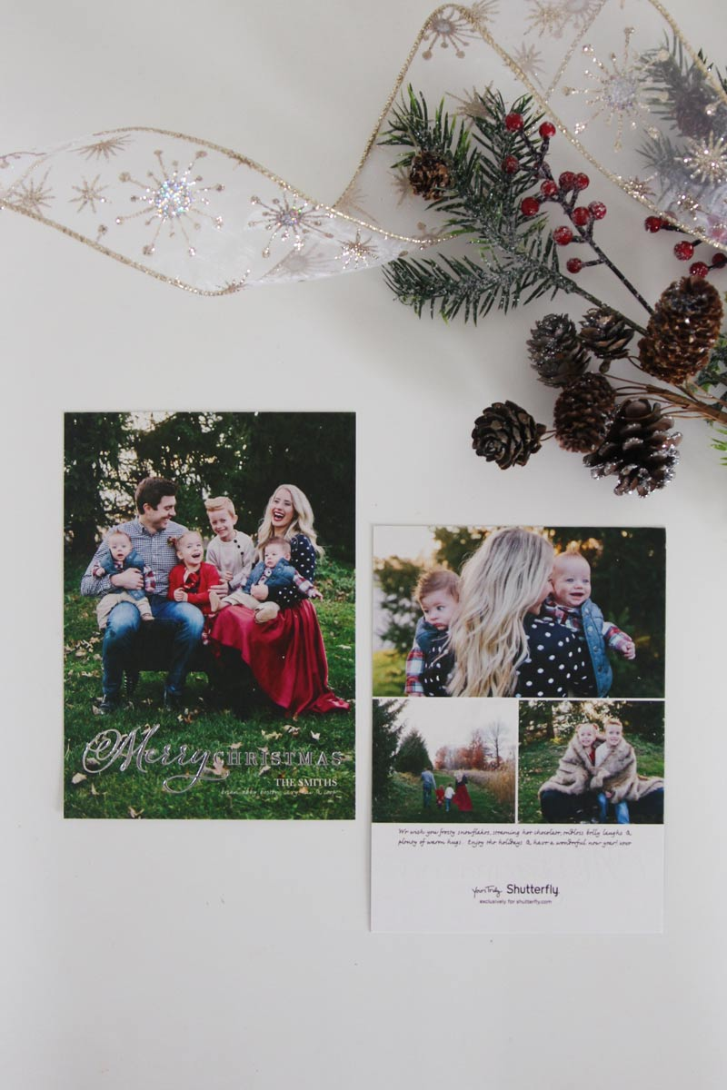 Christmas Cards with Shutterfly - Twist Me Pretty