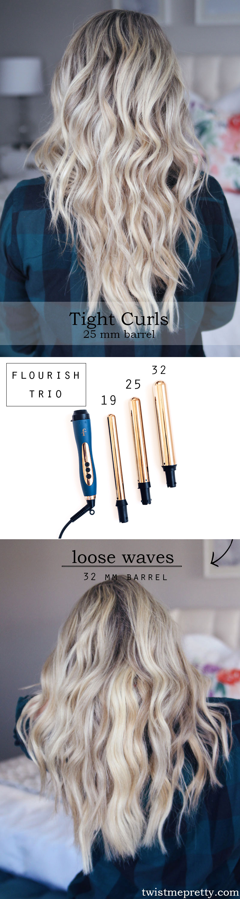 Curling Wand Sizes