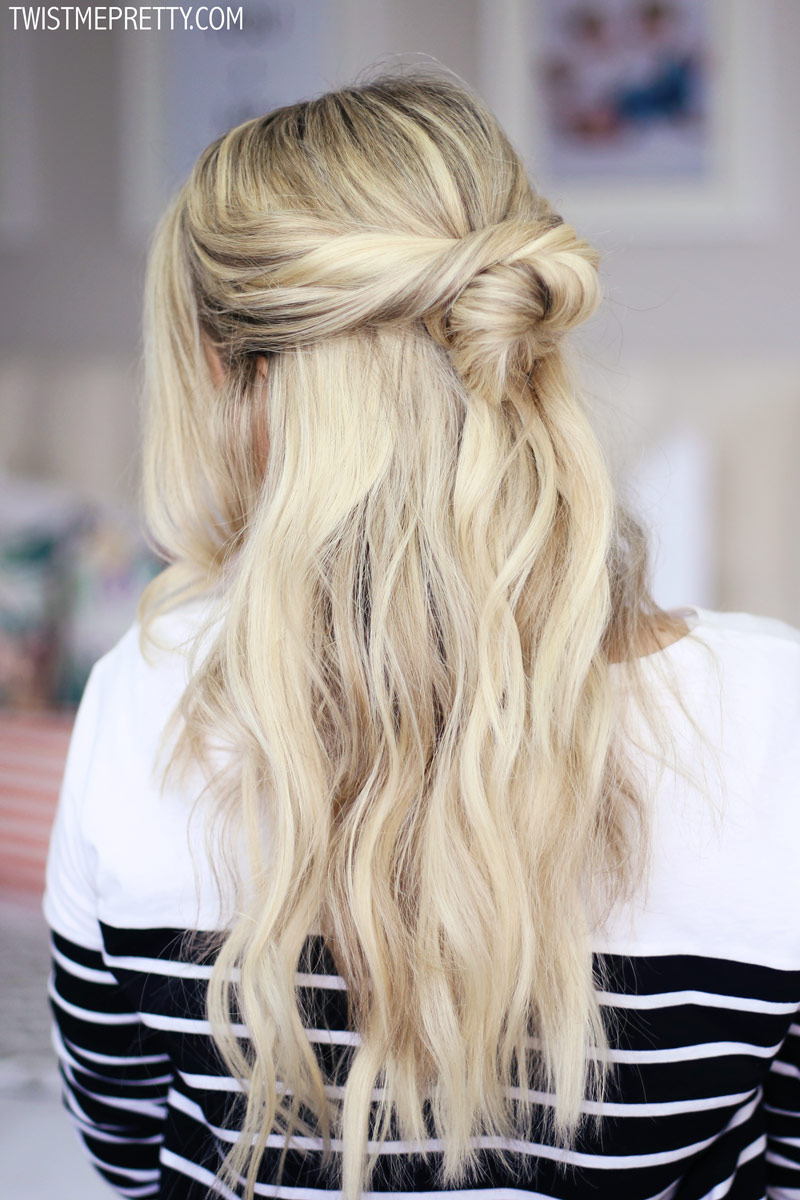 2 easy holiday hairstyles - Twist Me Pretty