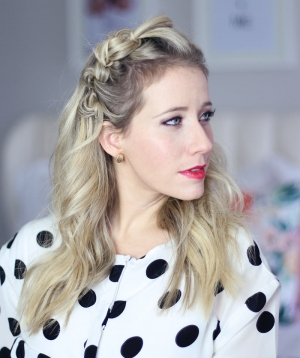 New Years Eve Hair Tutorial — Knotted Headband