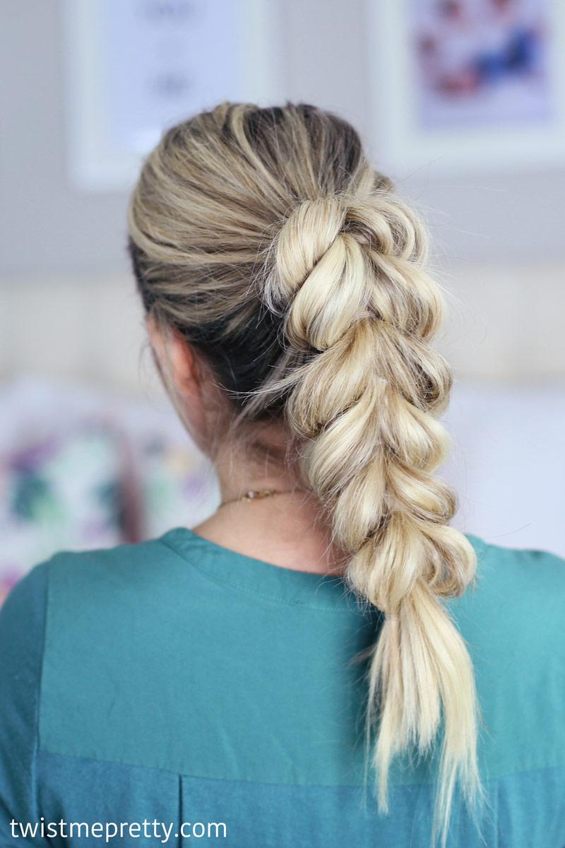 Tutorial On Makeup Application: Three Pull Through Braid Tutorials