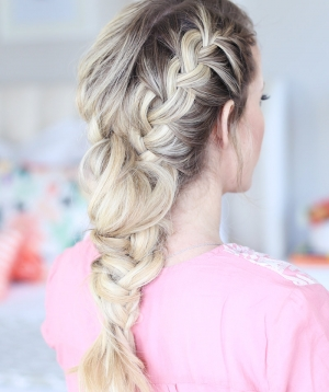 Mixed French Braid Tutorial