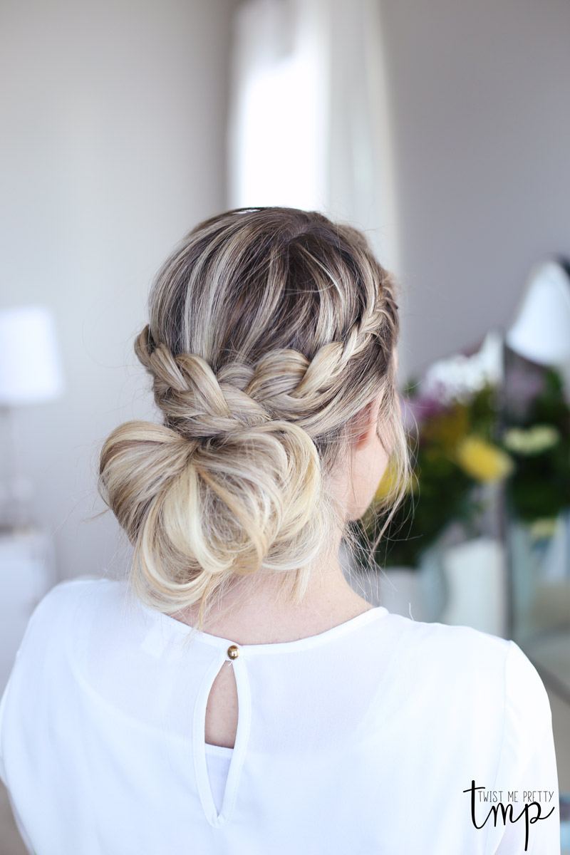 Twist Me Pretty's Laced Braid Up-do goes with any outfit.