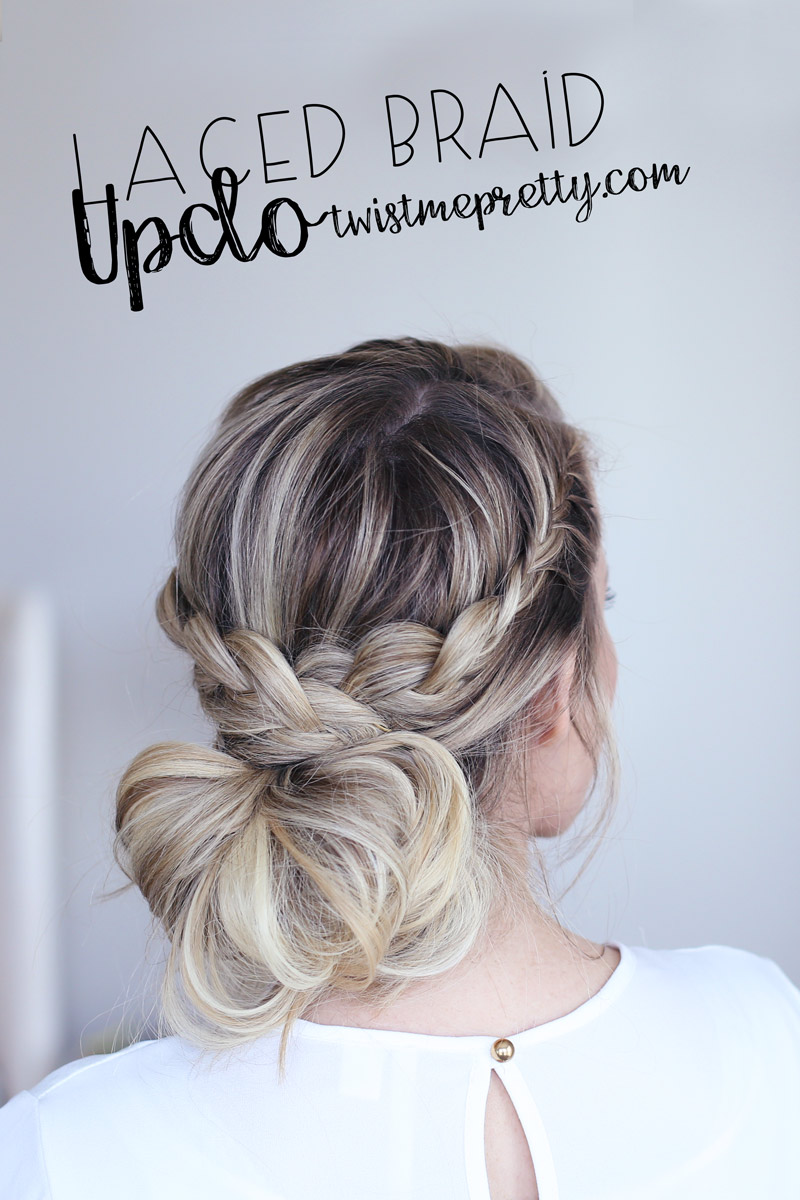 Twist Me Pretty's Laced Braid Up-do tutorial