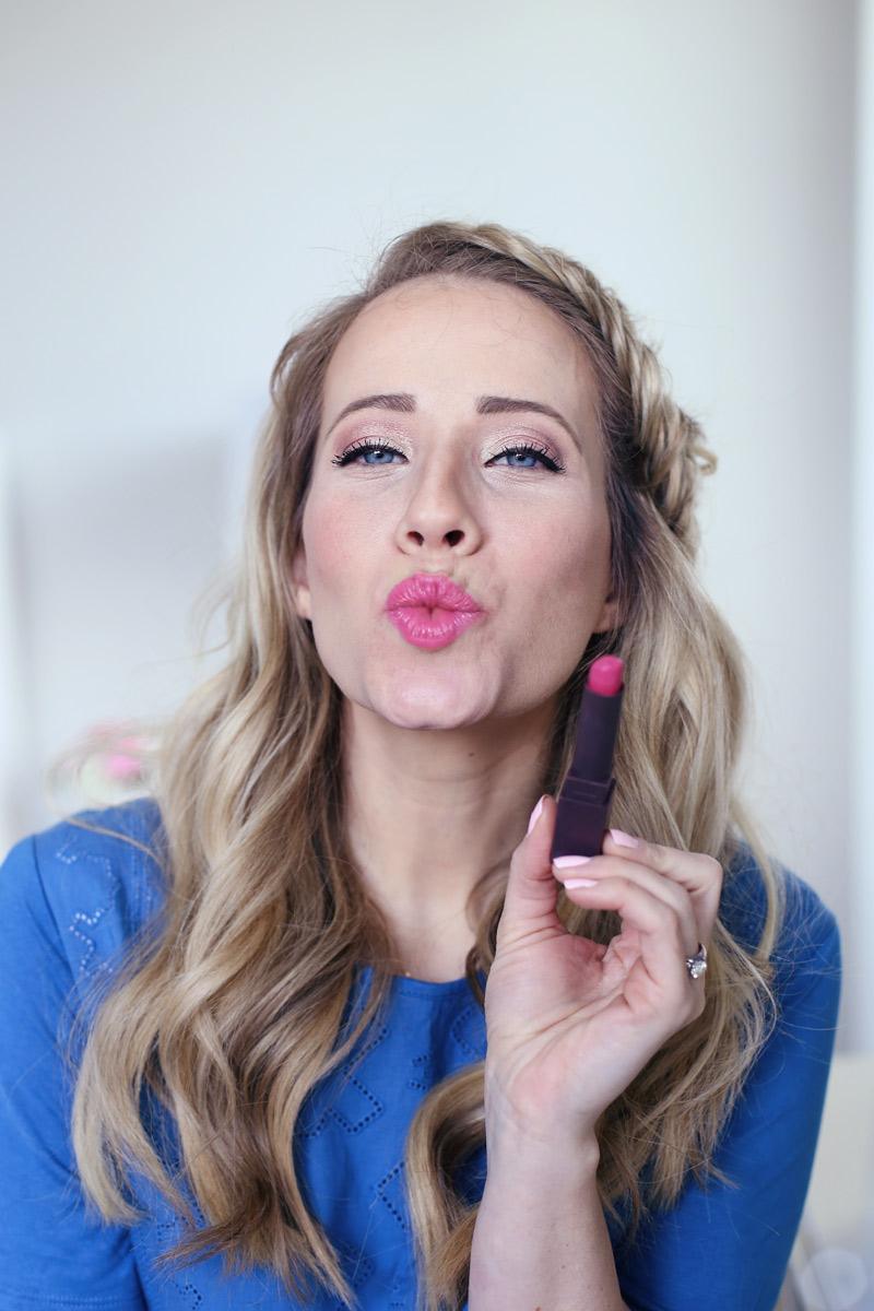 Kisses from Burt's Bees beautiful lipstick