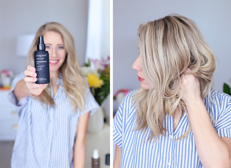 Abby's delighted with Living proof's texture mist