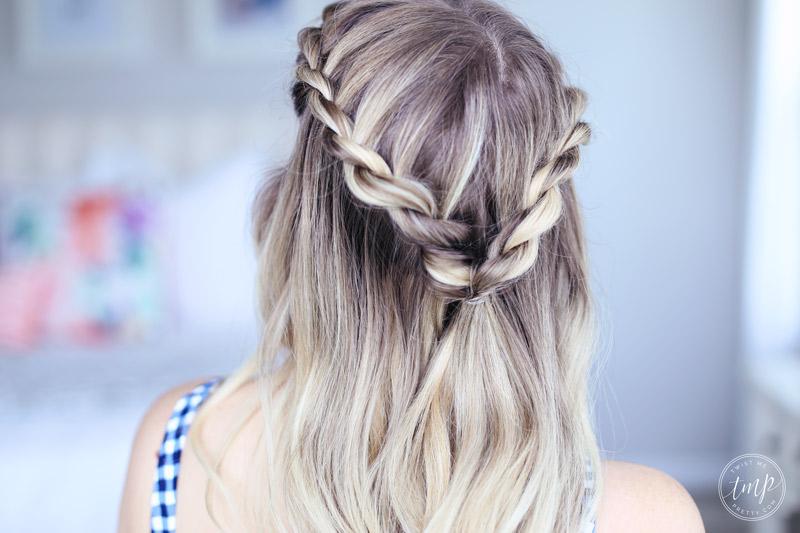 Summer Hair Style: Beach Hairstyle - Twist Me Pretty