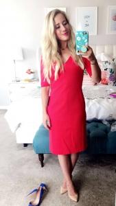 red dress heels snapchat abby smith twist me pretty tmp