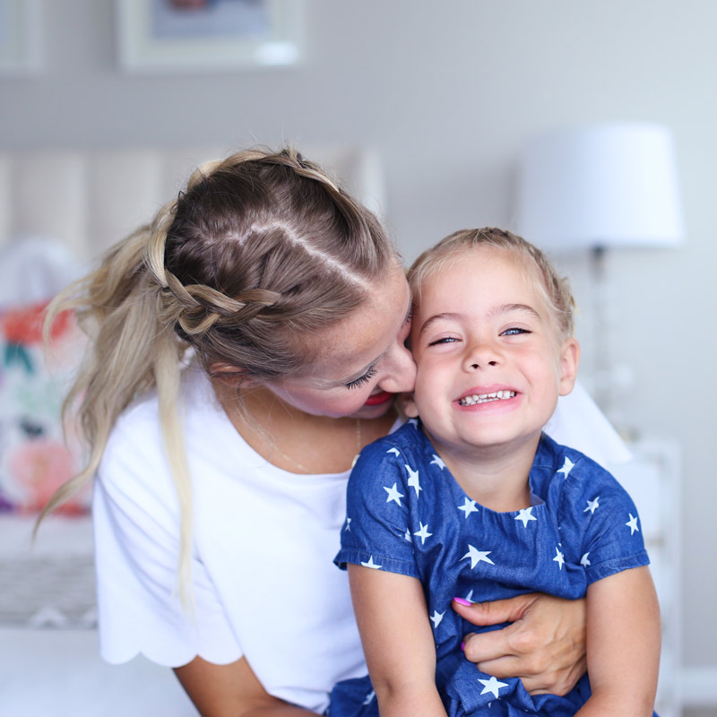 Motherly love and self-confidence. Find out more at Twist Me Pretty.