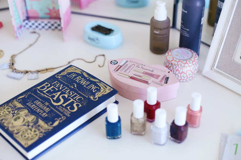 Essie nail polish, Sephora lip kits, JK Rowling's latest novel... what could be better than Abby's holiday favorites?