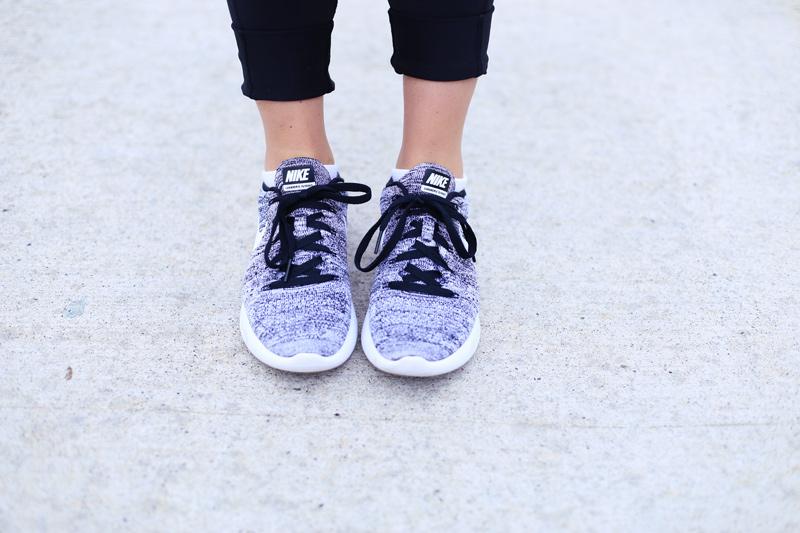 Nike shoes help me stay in shape. Twist Me Pretty.