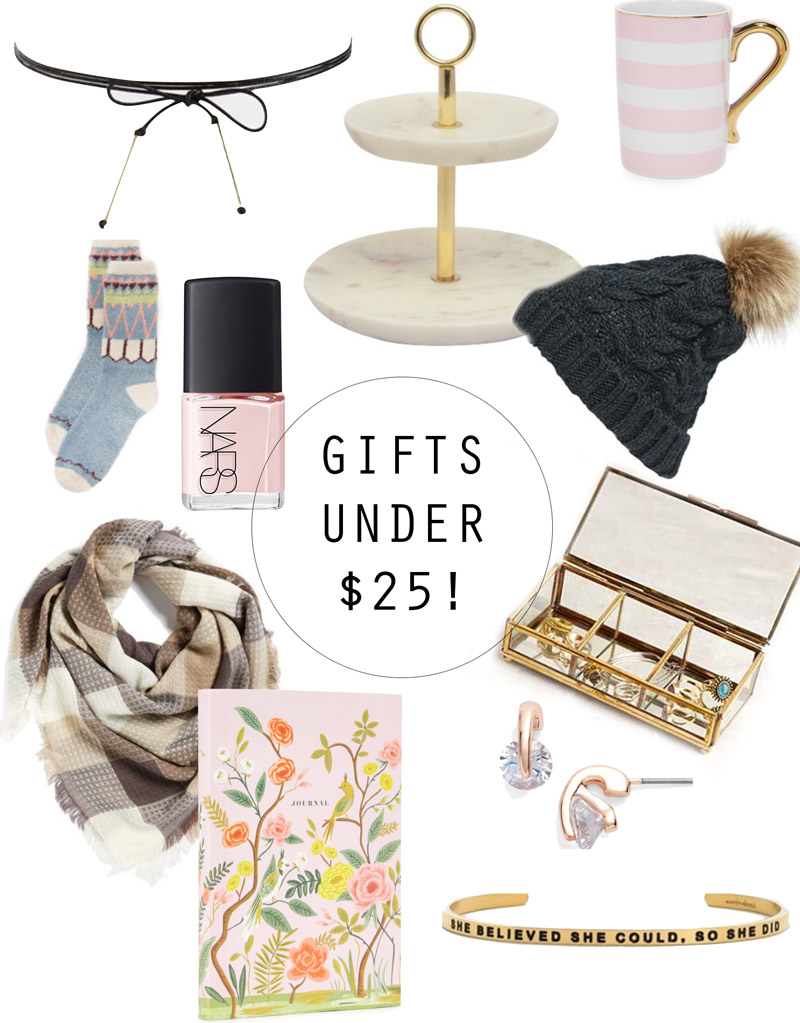 You'll love these gifts under $25! Twist Me Pretty gives great gift advice to help you out this festive season!