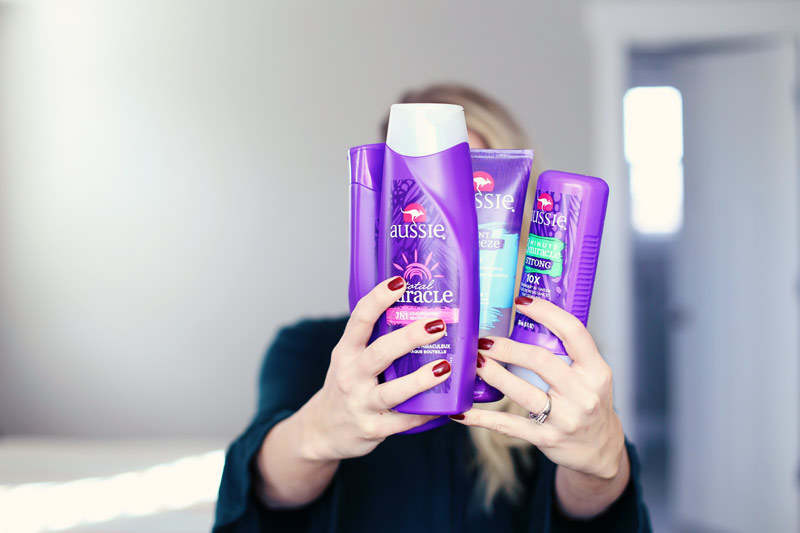 Abby loves Aussie's hair products - see how they can help you create the perfect new year's eve hairstyle.