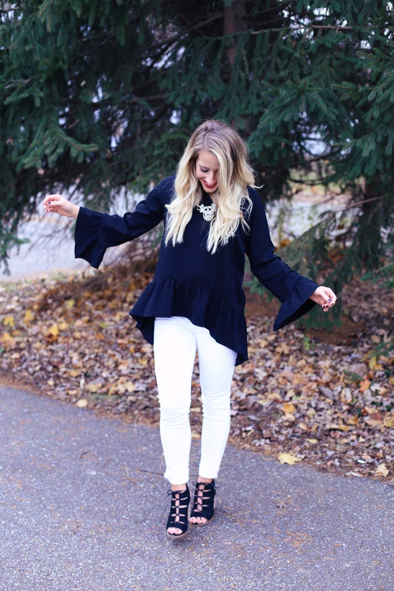 Stylish in a new town - Twist Me Pretty's Abby shares her outfit.
