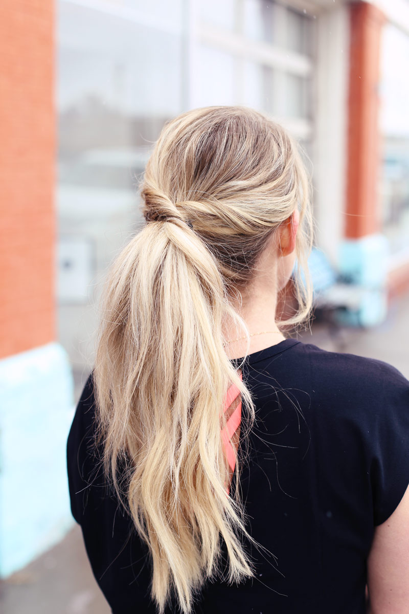 There's no reason to resort to a basic ponytail just because you're exercising!