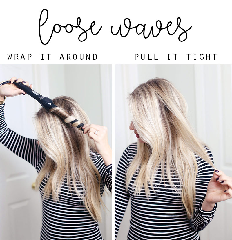 Want to know how to get the perfect loose waves with a curling iron? Abby will show you at TwistMePretty.com.