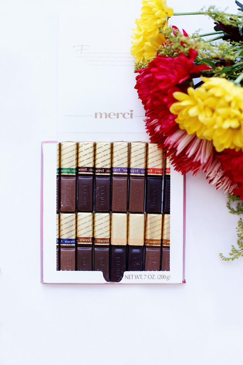 "Say ""thank you"" this Valentine's Day with merci."