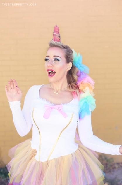 unicorn makeup tutorial halloween costume idea twist me pretty