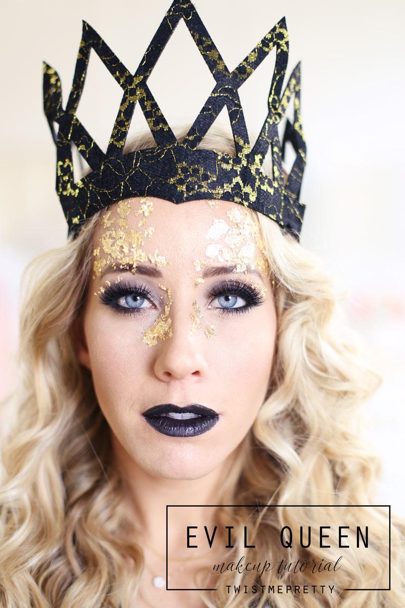 evil queen makeup + hair tutorial (queen ravenna) - twist me pretty