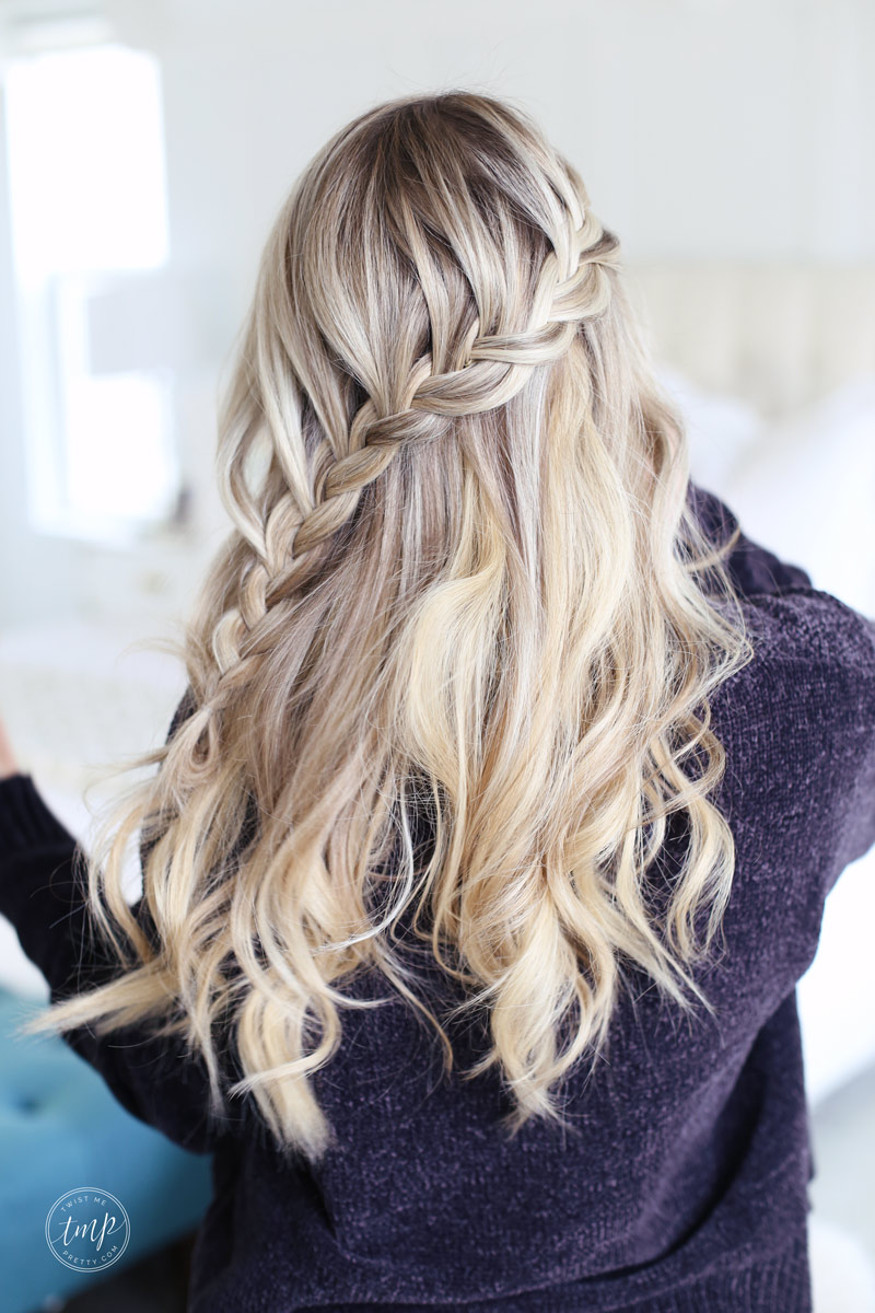 Lace Braid Tutorial For The Holidays Twist Me Pretty