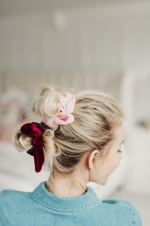8 Ways To Wear A Scrunchie Twist Me Pretty