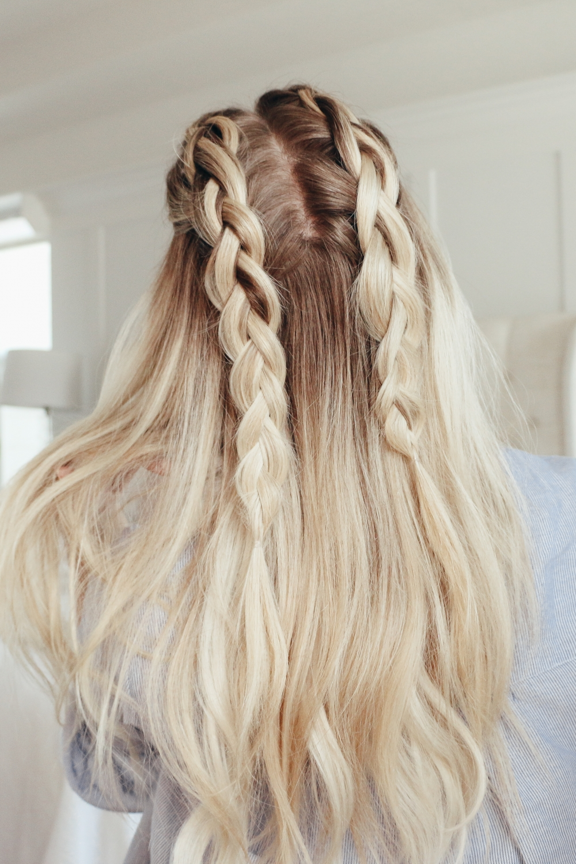 5 Cute Hair Tutorials For Spring Twist Me Pretty