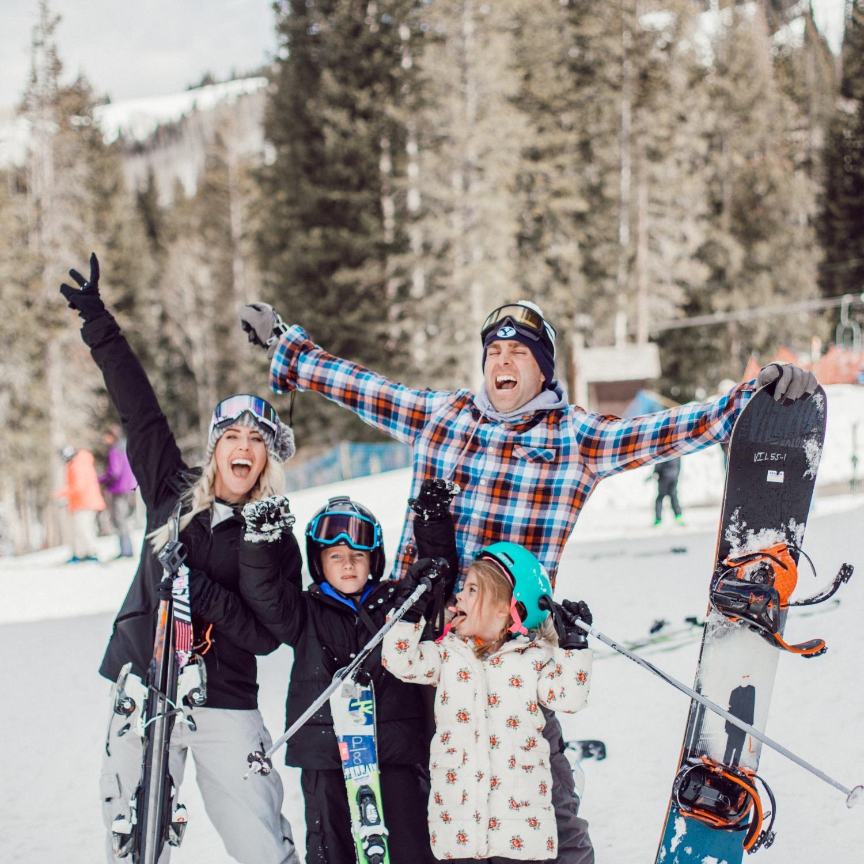 Skiing with kids at Brighton Ski Resort - Twist Me Pretty c5bcdc7c8