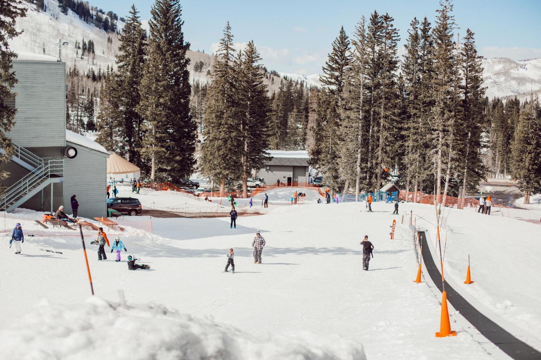 skiing with kids at brighton ski resort - twist me pretty