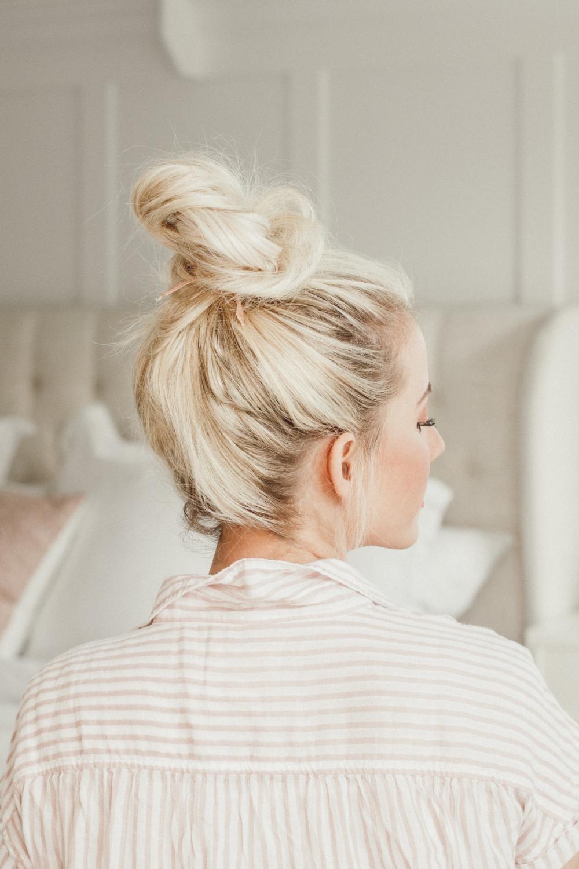 5 Ways To Do A Messy Bun Twist Me Pretty