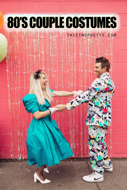 80's couple costumes