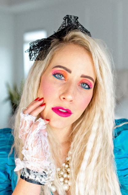 80 s hair makeup tutorial twist me pretty