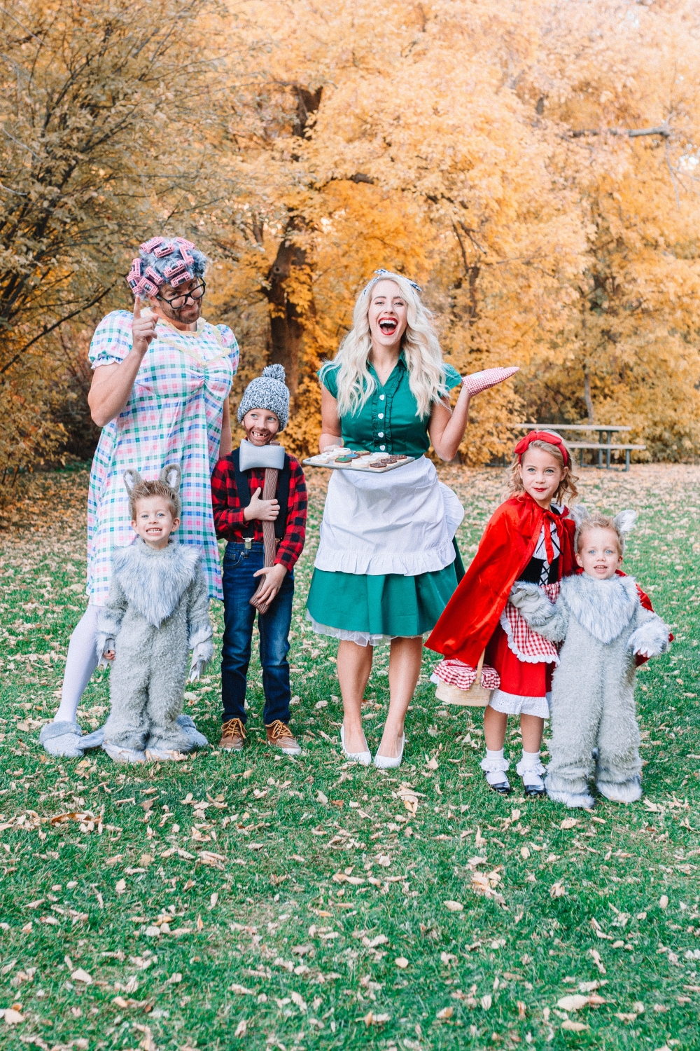 Family Halloween Costumes Little Red Riding Hood Twist Me Pretty