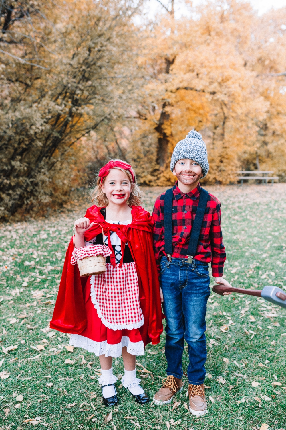 Little Red Riding Hood and the Wood cutter