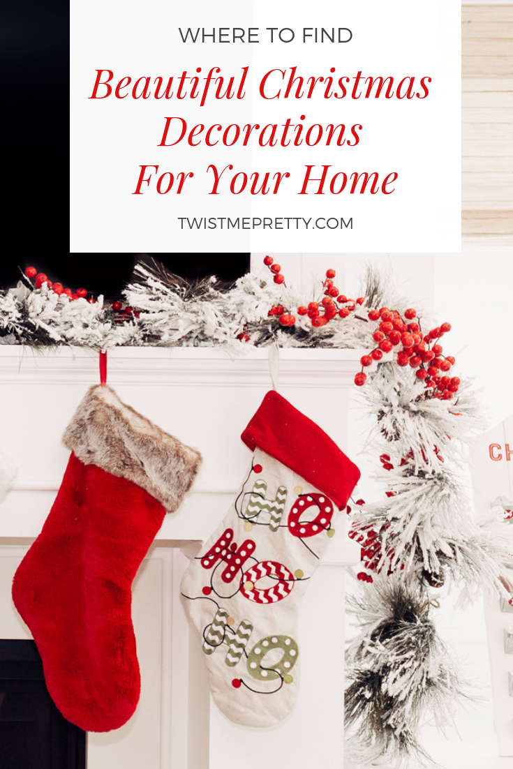Do you have any fun Christmas decoration ideas to tell me? Leave me a comment in the box below and don't forget to follow me on Instagram, @TwistMePretty.