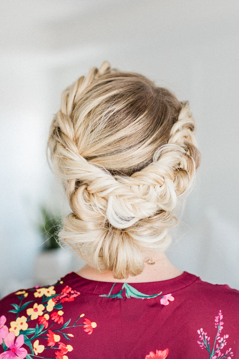 Fishtail Braided Updo Tutorial a step-by-step guide by www.twistmepretty.com