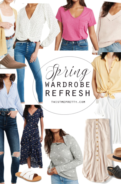 4efaa0dc4b5 How to refresh your wardrobe for spring - Twist Me Pretty
